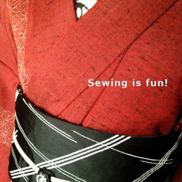 縫って初めてわかること.