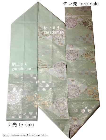 袋帯全体図
