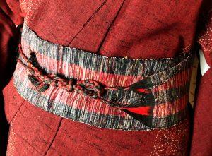 手織りの伊達締め