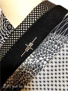 黒系半衿の色々