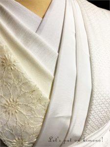 白系半衿の色々