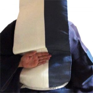 帯枕の置き方1