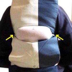 帯枕の置き方3