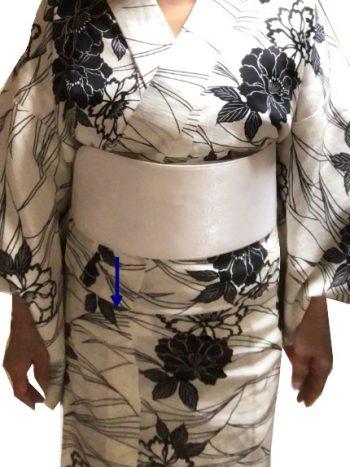 ベルト付き帯板装着