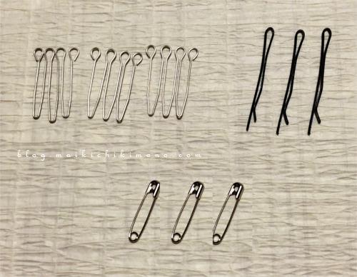 various pins